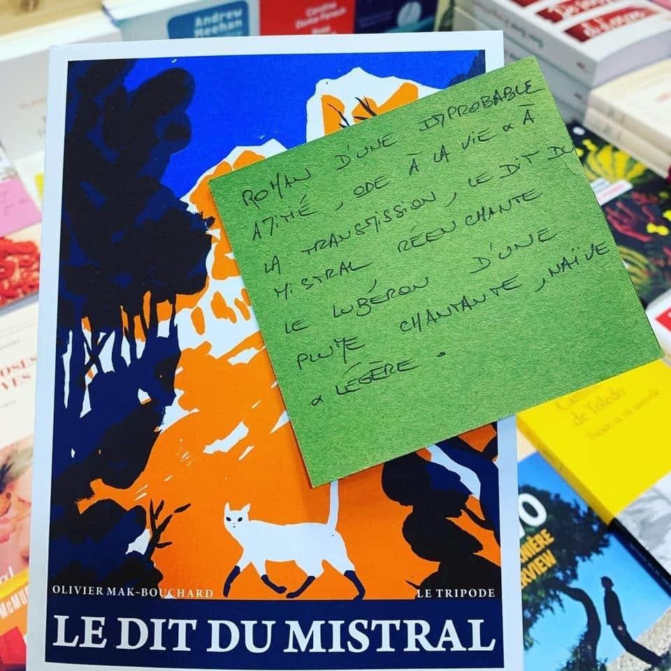 Le Dit du Mistral, Olivier Mak-Bouchard