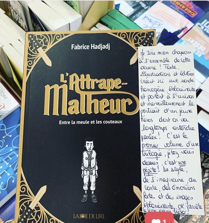 L'attrape-malheur, Fabrice Hadjadj