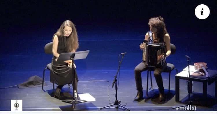 Léonor de Récondo, Amours, lecture musicale