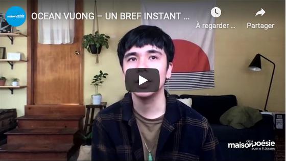Rencontre-lecture avec Ocean Vuong