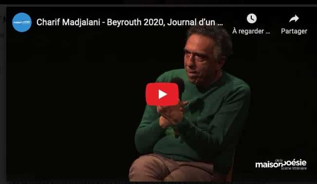 Rencontre avec Charif Madjalani (Maison de la Poésie-Paris)