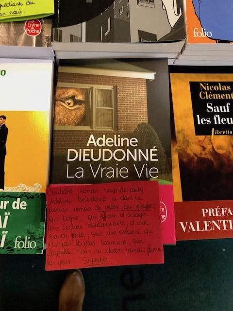 Adeline Dieudonné, La Vraie Vie