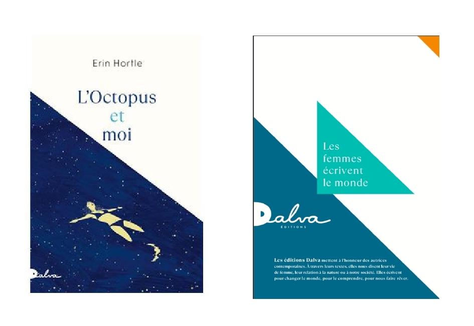 Éditions DALVA, Erin Hortle, L'Octopus et moi