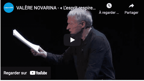 Lecture musicale : Valère Novarina