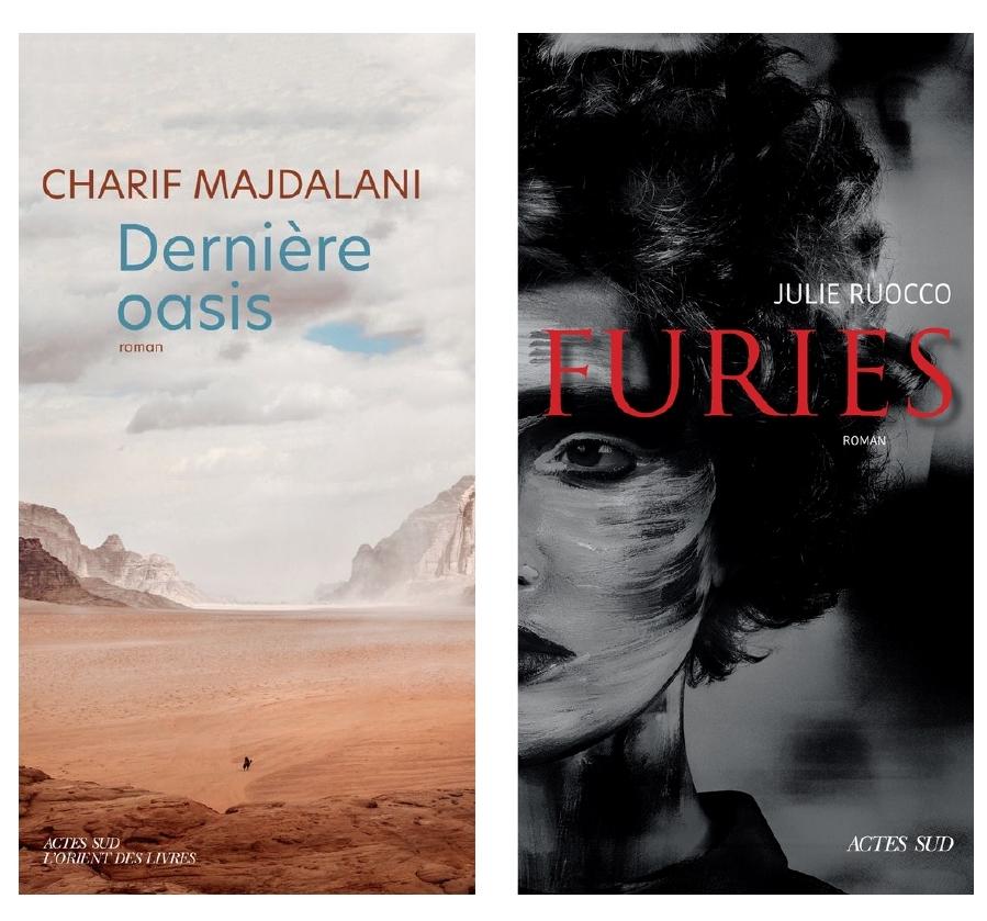Julie Ruocco, Furies et Charif Majdalani, Dernière oasis