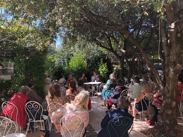 Café littéraire à la librairie Le Bleuet avec Laurence Vilaine-11 septembre 2021
